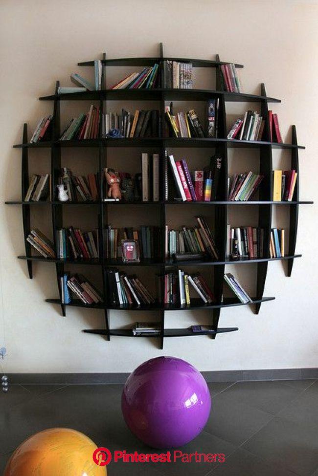 Vintage bookshelf | Bookshelf design, Creative bookshelves, Unique bookshelves