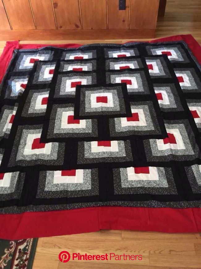Scrappy Quilts Blocks Free Pattern Ideas | Quilt patterns, Quilts, Log cabin patchwork