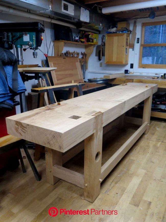 The Train Wreck is Behind You   Woodworking bench, Woodworking workbench, Woodworking table