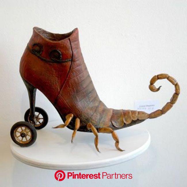 Tel Aviv, Israel fine artist Costa Magarakis #artistaday | Funky shoes, Funny shoes, Crazy shoes