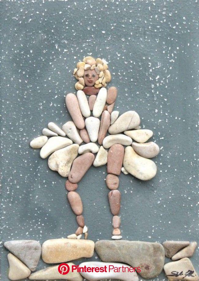 Pebbles: 25 ideas for creative art inspiration | My desired home | Creative art, Rock sculpture, Stone art