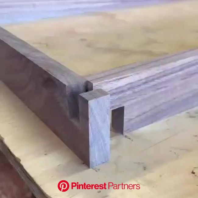 Woodworking Projects and Plans [Video] [Video] in 2020 | Woodworking projects furniture, Wood diy, Wood joinery