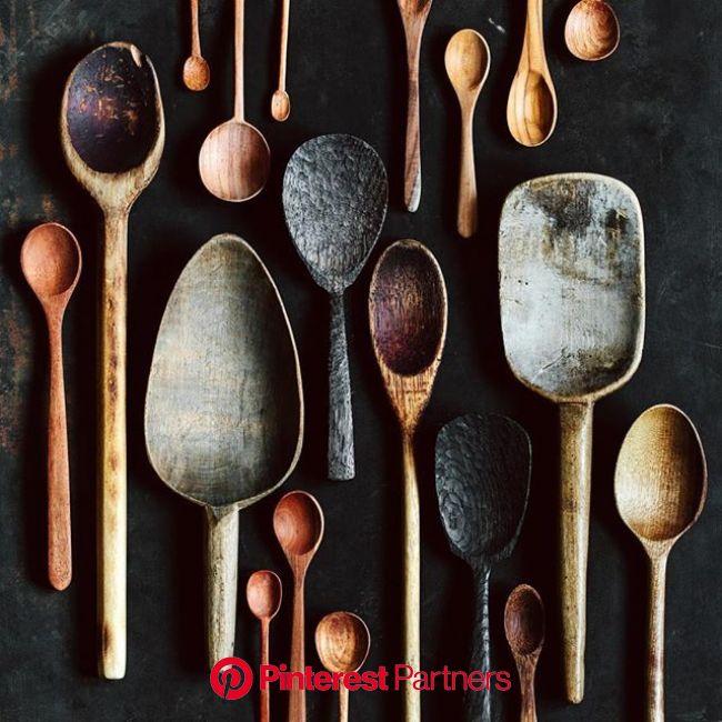 Our vegetarian recipe app | KRAUTKOPF | Wood spoon carving, Carved spoons, Wooden spoons