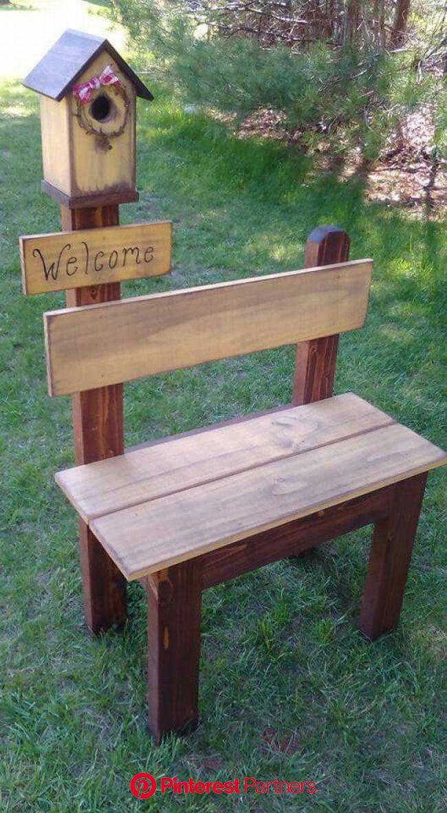 Pin by Lucille Rey on Woodworking in 2020 | Garden crafts, Diy garden furniture, Garden projects
