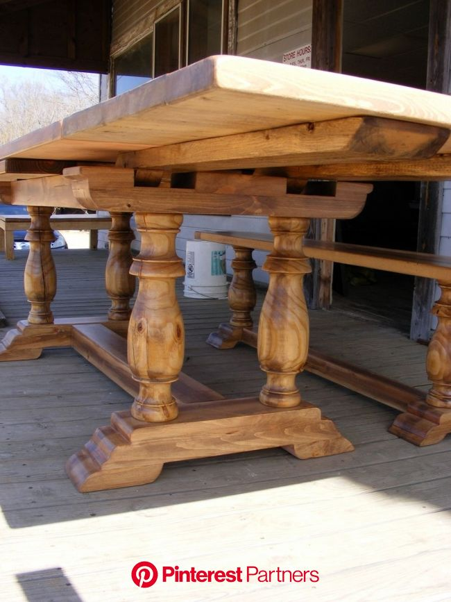 Beautiful Draw Leaf Extension Dining Table And Matching Bench   Trestle dining tables, Dinner tables furniture, Extension dining table