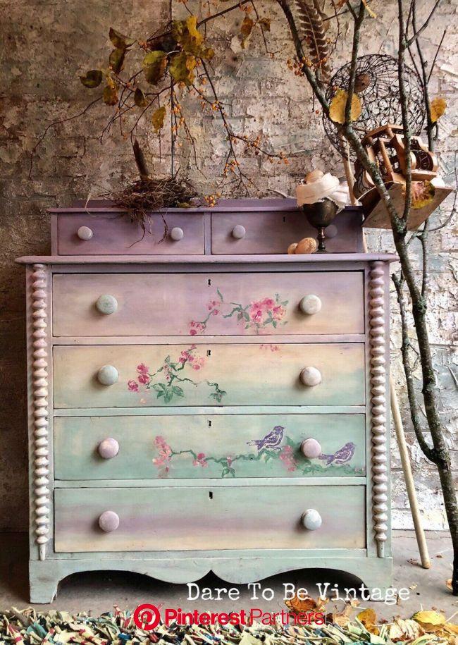 möbel restaurieren   Vintage furniture makeover, Shabby chic furniture, Furniture makeover