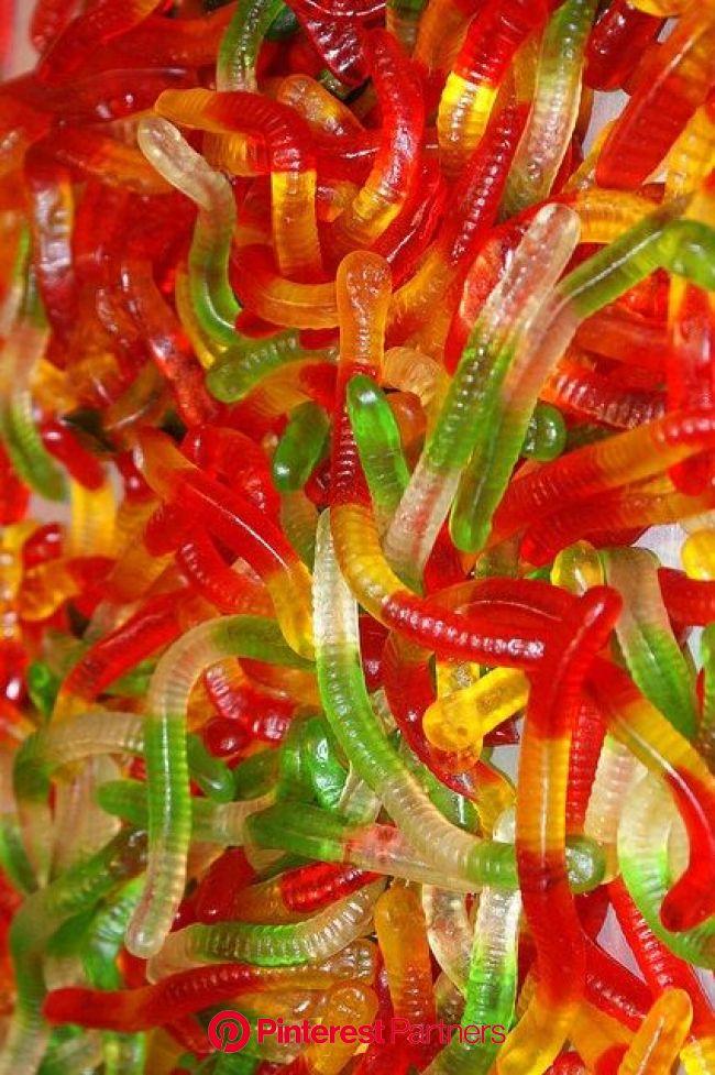 Gomitas de gusanitos. De Venta en la Dulcería para unas gelatinas divertidas... | Gummy candy, Colorful candy, Candy pictures