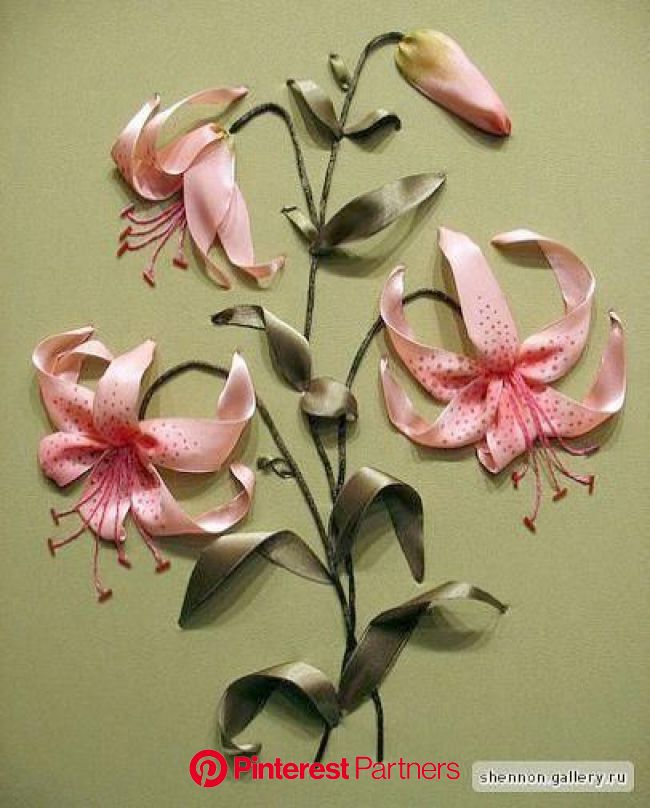 10+ Enchanting Ribbon Embroidery Flowers by Hand Ideas in 2021 | Silk ribbon embroidery patterns, Silk ribbon embroidery tutorial, Ribbon embroidery k