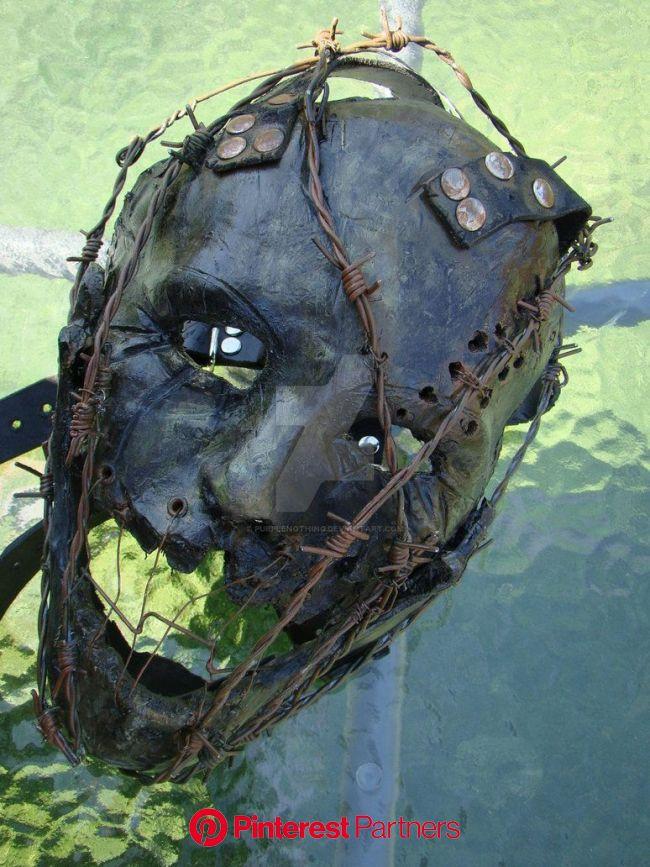 The Wretching Mask SOLD 1 by purplenothing on DeviantArt | Creepy masks, Horror masks, The mask costume