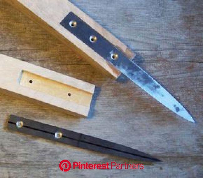 Traditional Hook Knife | Knife making, Knife, Knife making tools