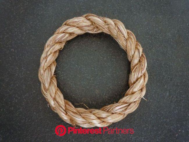 Rope Rings | Diy rope rings, How to make rope, Rope rings