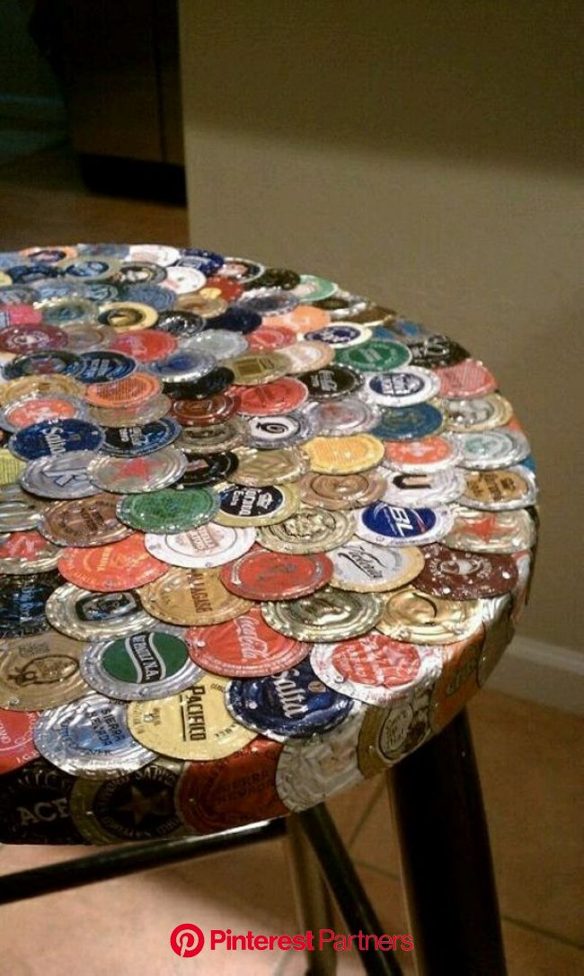 Bottle Caps Recycling Ideas | Upcycle Art | Beer cap crafts, Beer cap art, Bottle cap art