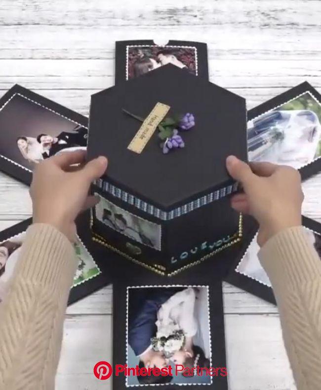 Explosion gift box diy video | Diy gift box, Diy gifts for boyfriend, Diy gifts for girlfriend