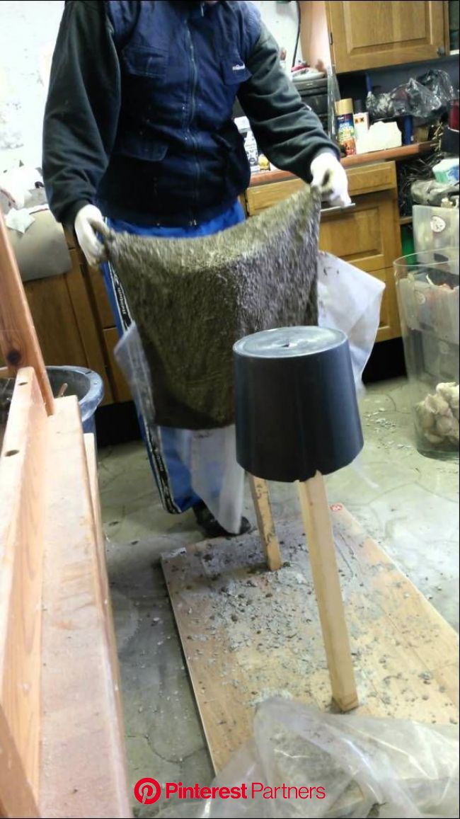 Vaser i beton del 2 | Diy concrete planters, Diy cement planters, Cement diy