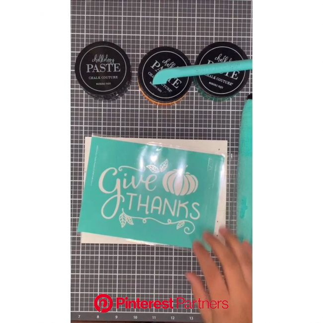Give Thanks | Chalk Couture | DIY | wood signs | Fall Decor | Crafts | [Video] | Chalk crafts, Diy arts and crafts, Crafts
