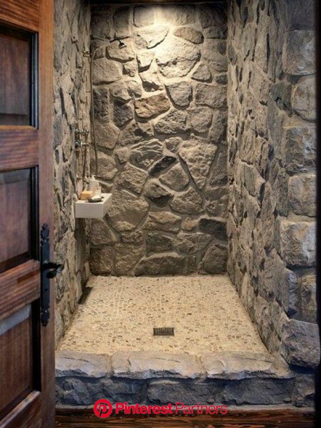 Photos : un coin de campagne - Maison et Demeure | Rustic bathroom designs, Rustic bathrooms, Rustic bathroom