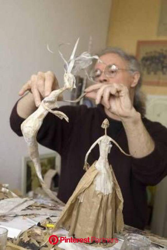 Bernard Jeunet | Paper mache dolls, Paper mache projects, Paper mache art