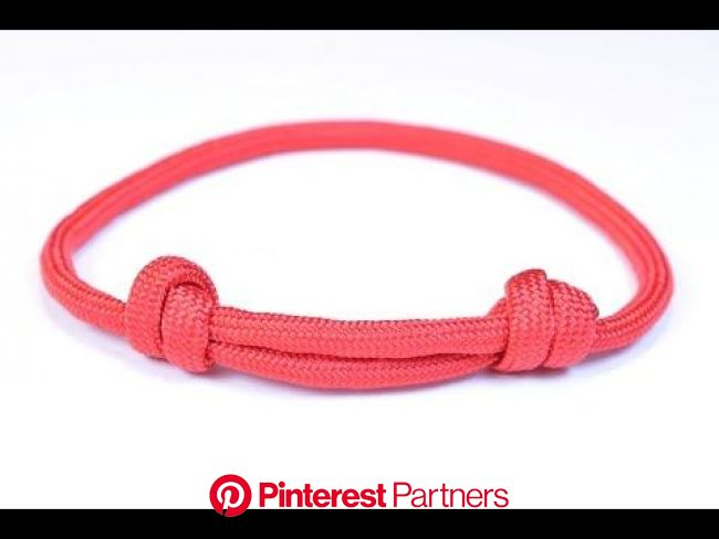Make the Sliding Knot Friendship Paracord Bracelet - Bored Paracord | Sliding knot bracelet, Paracord bracelets, Bracelet tutorial