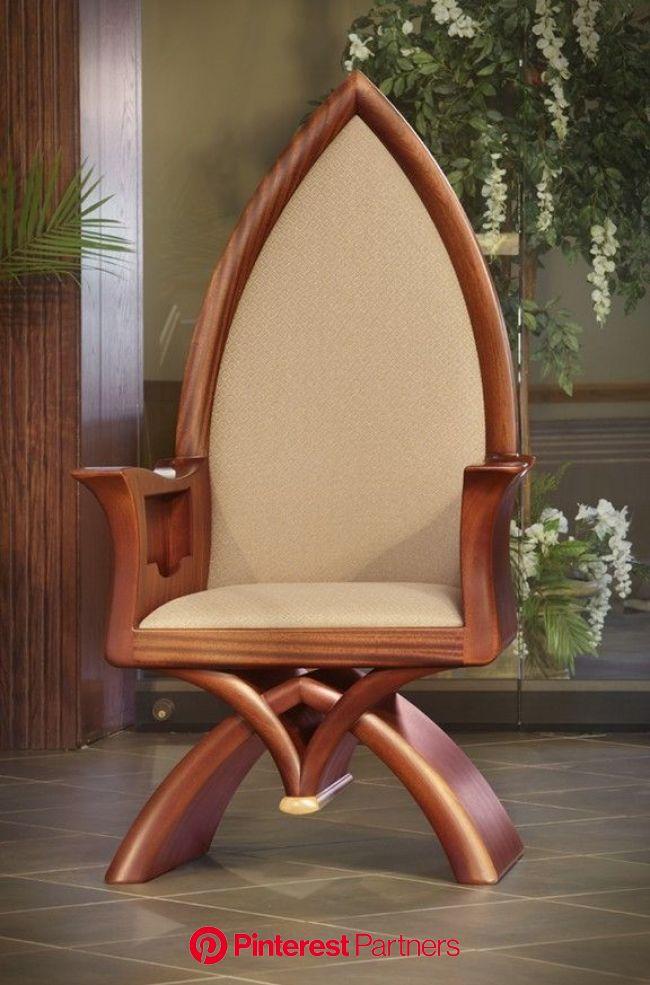 St. Mark Catholic Parish | Church furniture design, Church furniture, Wood chair design