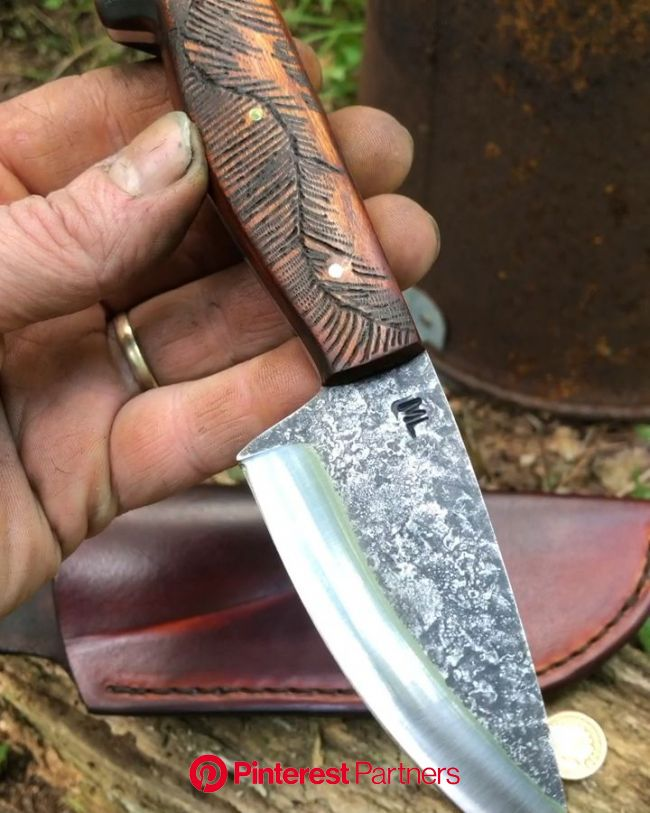 WINDING PINE BIG WOODS TRAIL KNIFE [Video] | Handmade knives, Handcrafted knife, Knife