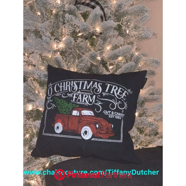Chalk Couture | Throw Pillow | Home Decor | DIY | Christmas Decor [Video] | Christmas decor diy, Christmas diy, Christmas decorations