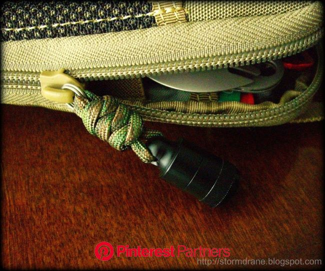 Pico Pulls to zip things up... | Bug out gear, Girl scout camping, Lanyard knot