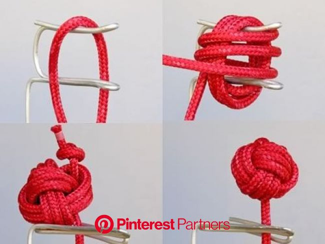 Rope Bending | Make: | Knots diy, Decorative knots, Monkey fist knot