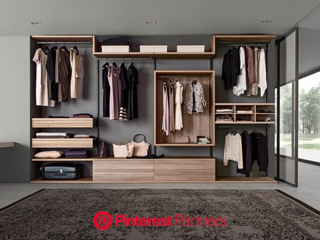 Stitched Up: tailor-made design from Presotto | Wardrobe room, Bedroom closet design, Dressing room design