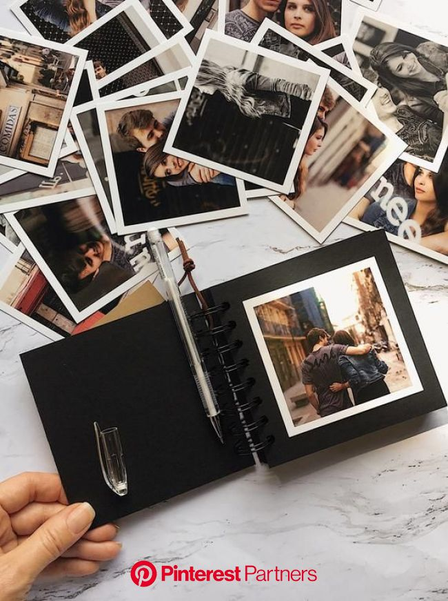 Mini Photo album Polaroid for Friends, travel Photo album, gift custom photo album for her, album for best friend gift | Photo album scrapbooking, Min