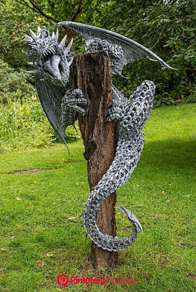 Nidhogg | Metal art sculpture, Scrap metal art, Metal art projects