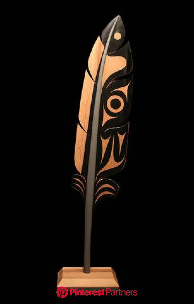 Northwest Coast Sculpture | Feather art, Native art, Pacific northwest art