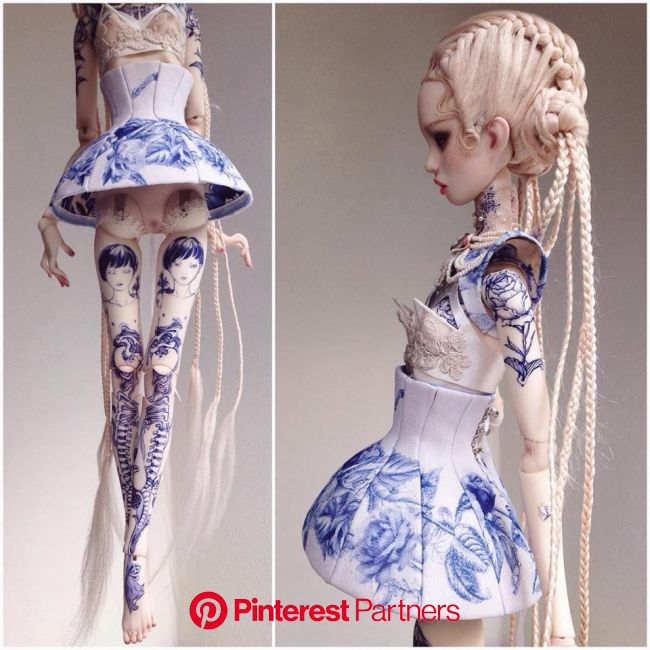 Popovy Sis | Doll tattoo, Art dolls, Fashion dolls