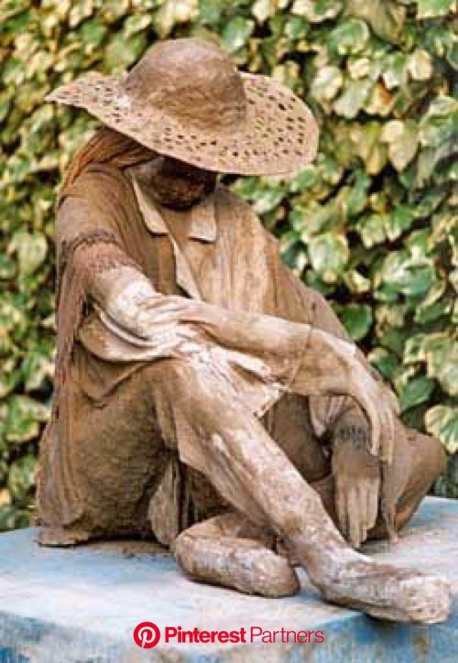 Garden Figures | Garden figures, Cement art, Concrete statues