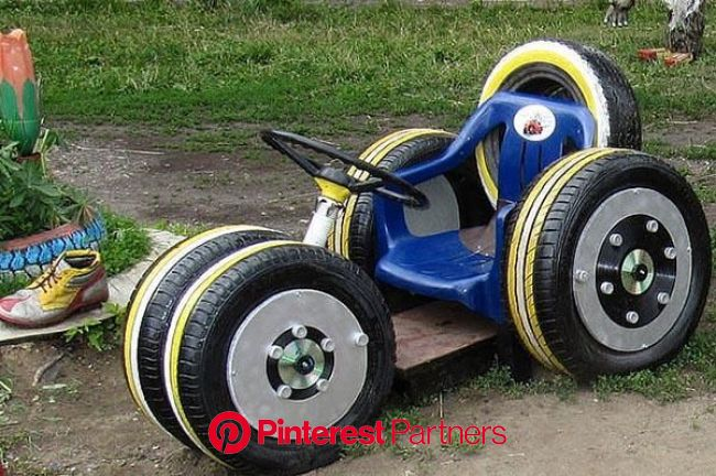 Amazing Artworks and Fun Garden Decorations Created to Recycle Tires   Tire playground, Tyres recycle, Old tires