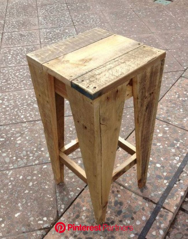 10 Awesome Woodworking Projects for Every Skill Level | Wooden pallet furniture, Pallet bar stools, Wood pallet projects