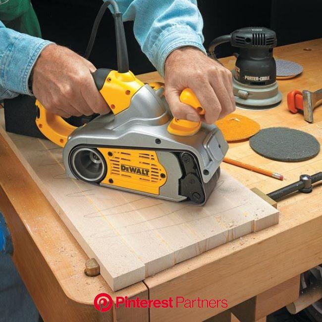 Flat Panels Fast   Woodsmith Tips   Woodworking tips, Belt sander, Woodworking