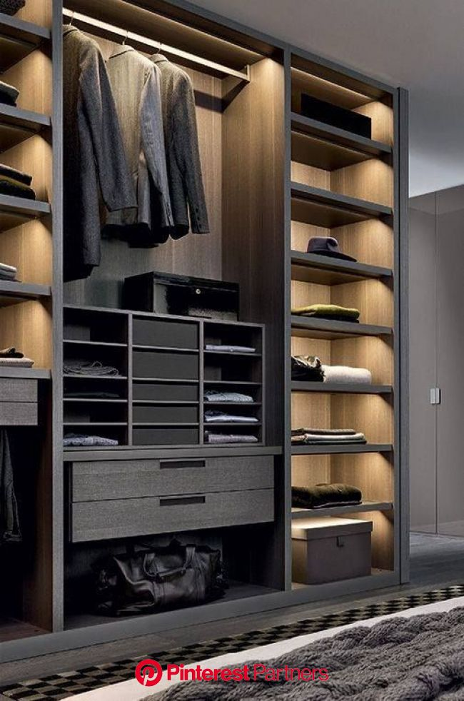 40 Ingenious Bedroom Closet Ideas and Designs | Bedroom closet design, Walk in closet design, Wardrobe design bedroom