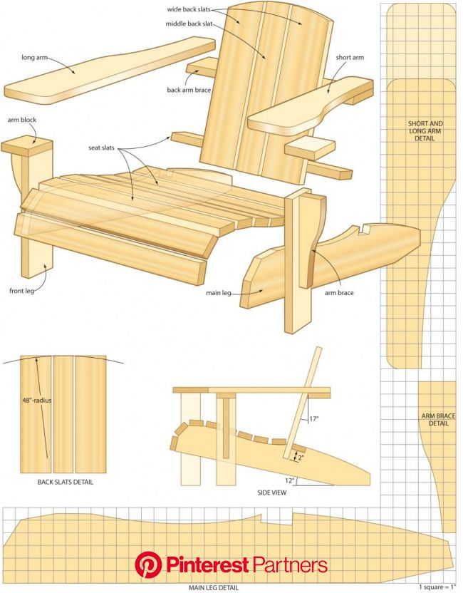 Arts and Crafts style shelves in 2020 | Woodworking projects, Adirondack chair plans free, Woodworking plans