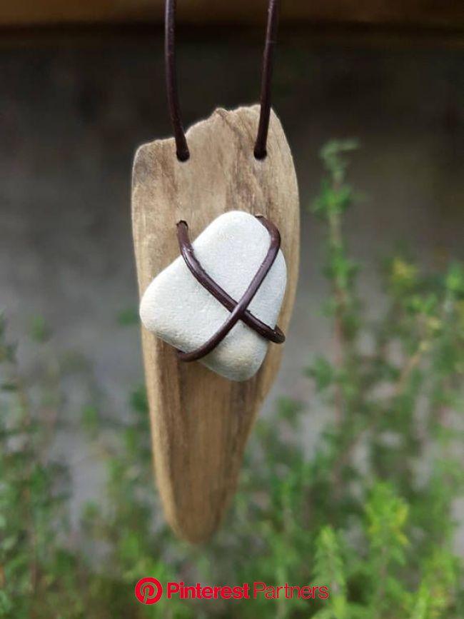 Driftwood Necklace Boho Chic | Gioielli naturali, Gioielli riciclati, Oggetti creativi con legname