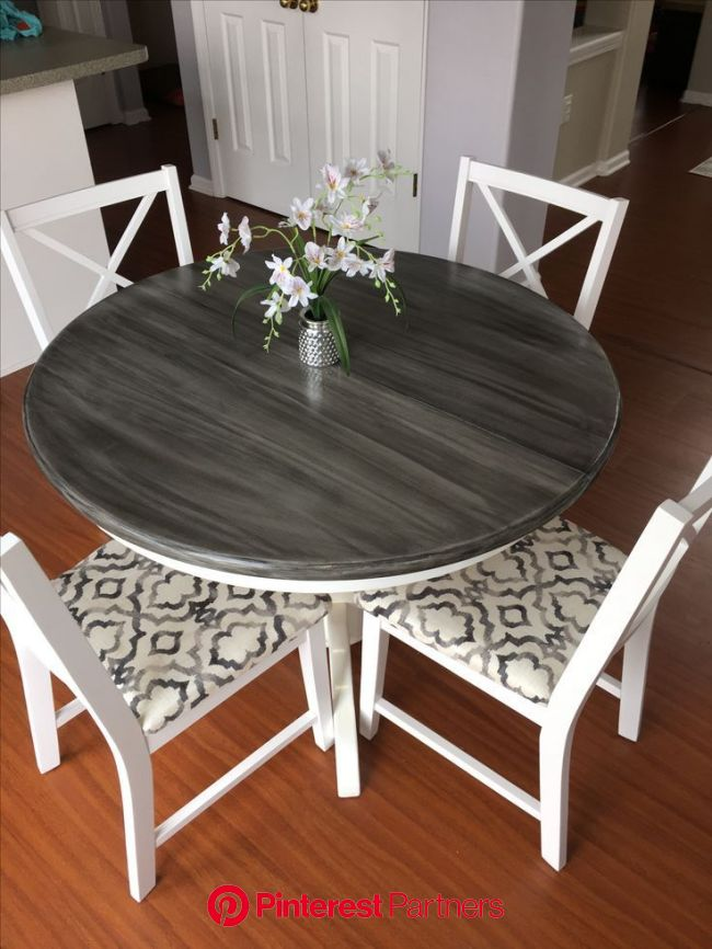 How to Turn Your Table Into a Farm Table   Dining table makeover, Kitchen table makeover, Kitchen table redo