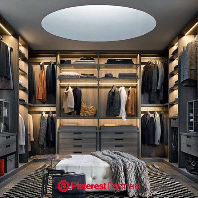 Top 100 Best Closet Designs For Men - Walk-In Wardrobe Ideas | Luxury closet, Walk in closet design, Dressing room design