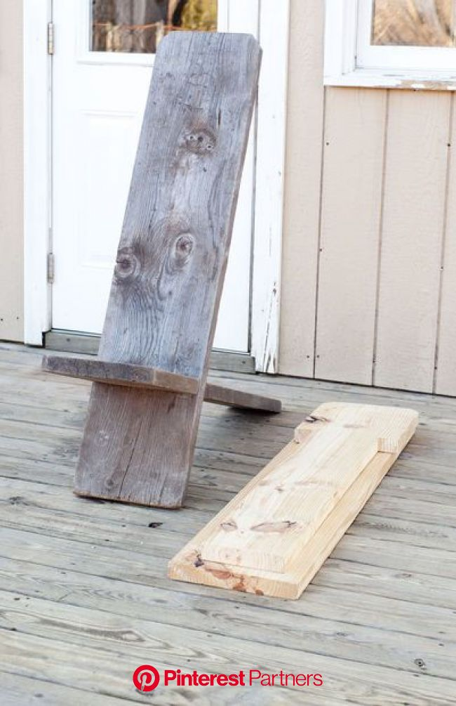 One Board Minimalist Chair | Minimalist chair, Diy camping chair, Diy chair