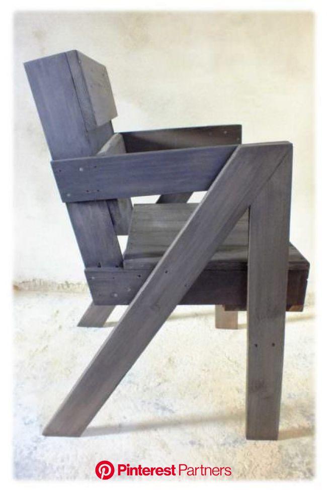 Chaise En Bois De Palette / Pallet Chair • 1001 Pallets | Pallet chair, Diy pallet furniture, Chair