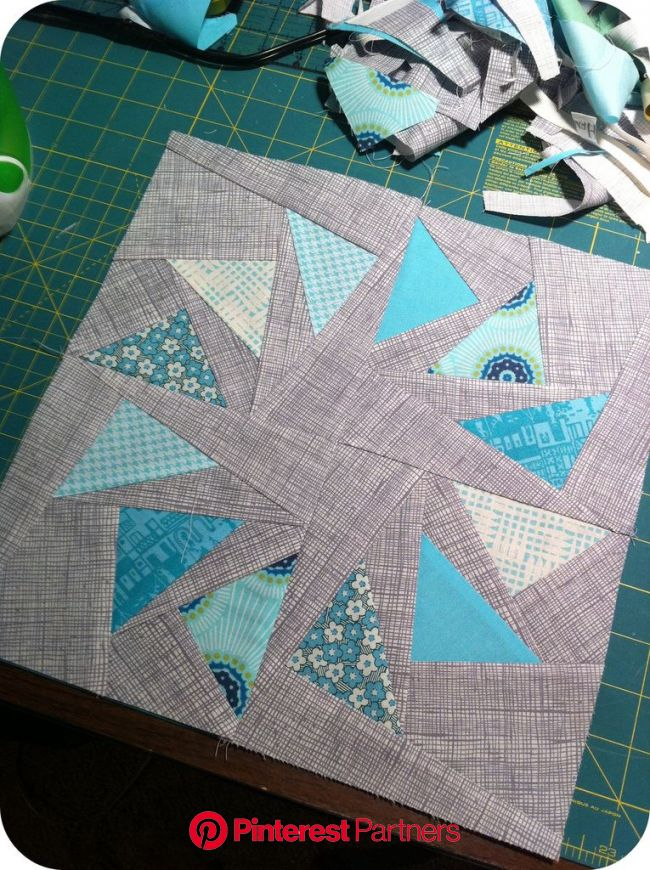 circle of geese block | Paper piecing quilts, Quilt block patterns, Quilt blocks