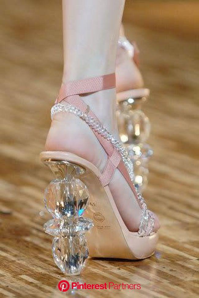 Tread Lightly | Heels, Crystal heels, Crazy shoes