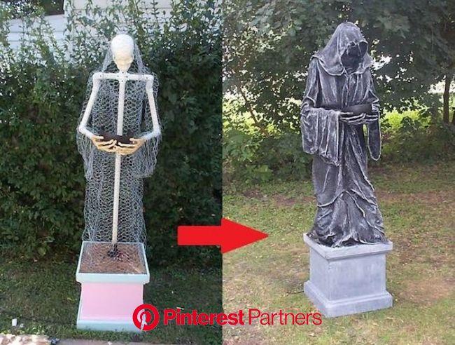 ▷ 1001 + Ideen für Halloween Deko basteln zum Entlehnen   Halloween deko selber machen, Halloween deko basteln, Halloween deko
