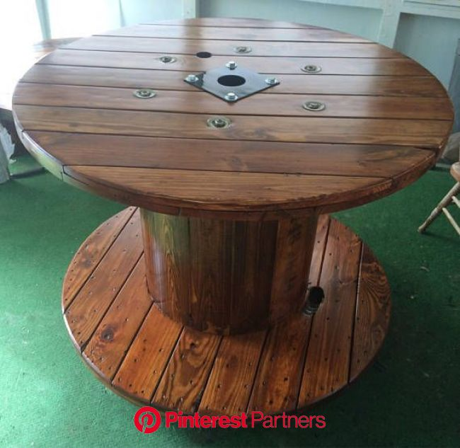 Wire Spool Table In 2020 Wire Spool Tables Spool Tables Cable Spool Tables Wood Decor 2019 2020