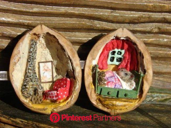 Осенние поделки от наших подписчиков   Осенние поделки, Рождественские украшения ручной работы, Поделки из природных материалов