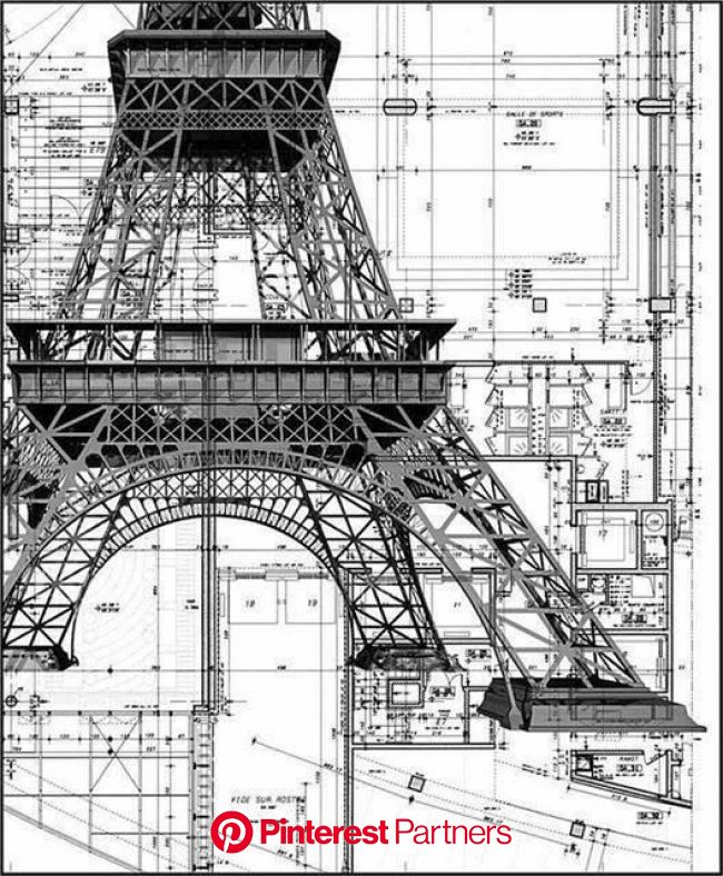 Laurent on Twitter | Architecture drawing, Architecture sketch, Eiffel tower