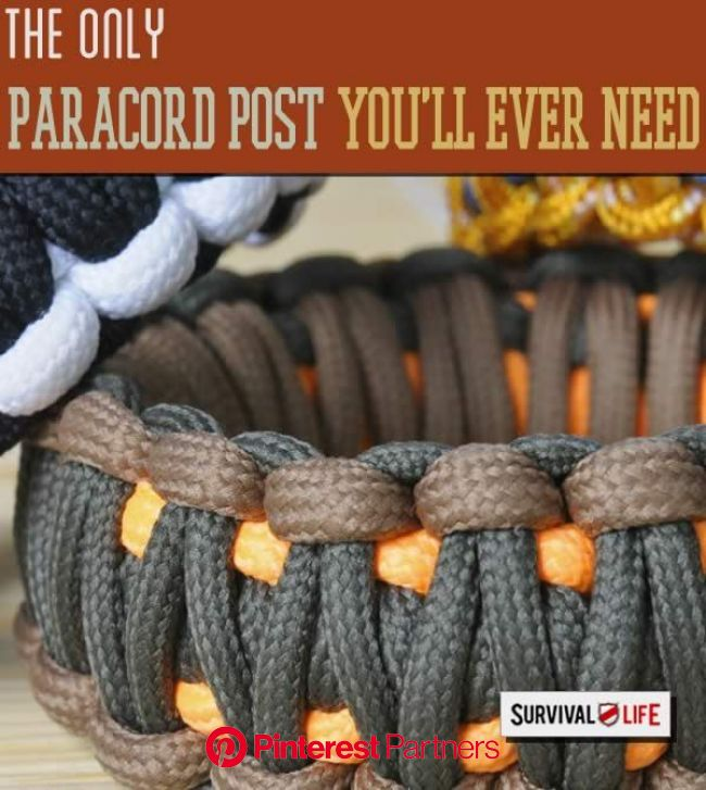 Paracord: Everything You'll Ever Need to Know |Paracord Uses, Paracord Projects, Paracord Bracelet Tutorials by Surviv… | Paracord projects, Para